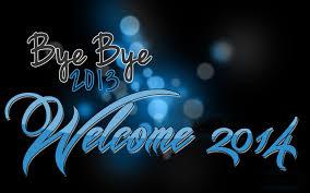 bye bye 2013