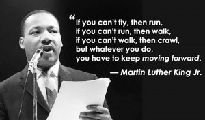 Dr King on persistence