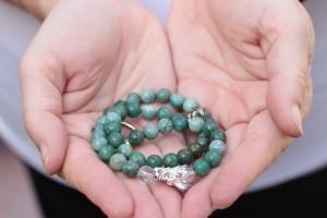 dragon bracelet strung